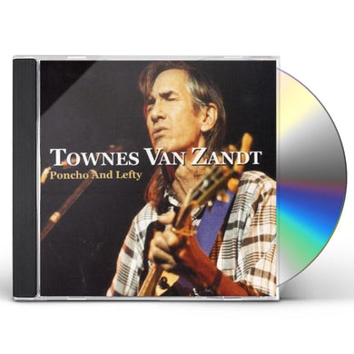 Townes Van Zandt PONCHO & LEFTY CD