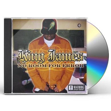 King James NO ROOM FOR ERROR CD