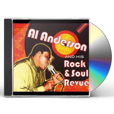 Al Anderson HIS ROCK & SOUL REVUE CD