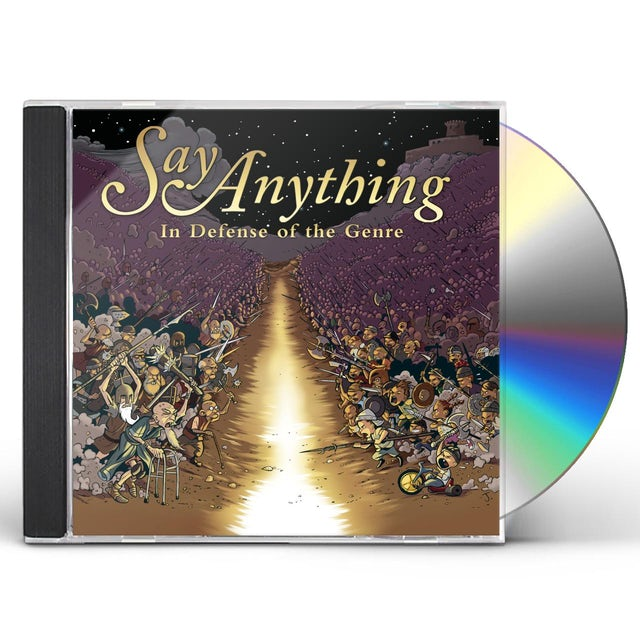 Say Anything IN DEFENSE OF THE GENRE CD