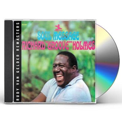 Richard Groove Holmes SOUL MESSAGE: RUDY VAN GELDER REMASTERS CD