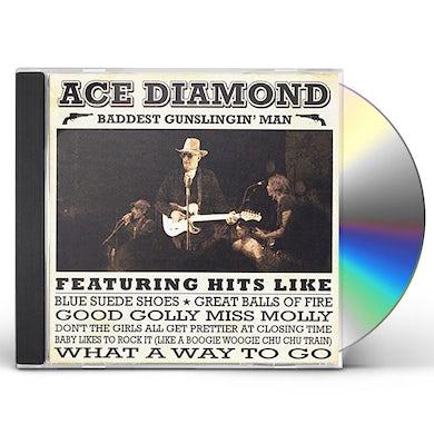 Ace Diamond BADDEST GUNSLINGIN MAN CD
