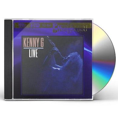 Kenny G LIVE (ULTRA-HD/32BIT PUREFLECTION) CD