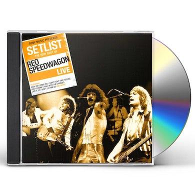 Reo Speedwagon SETLIST: THE VERY BEST OF REO CD