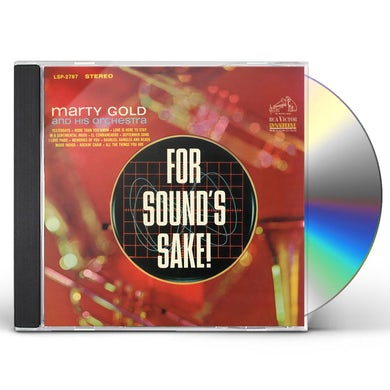 FOR SOUND'S SAKE CD