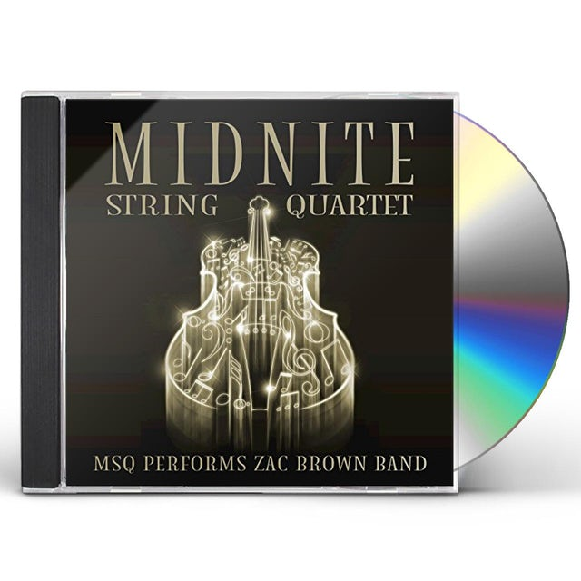 Midnite String Quartet MSQ PERFORMS ZAC BROWN BAND (MOD) CD