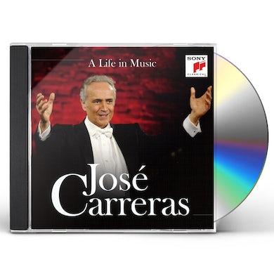 Jose Carreras LIFE IN MUSIC CD