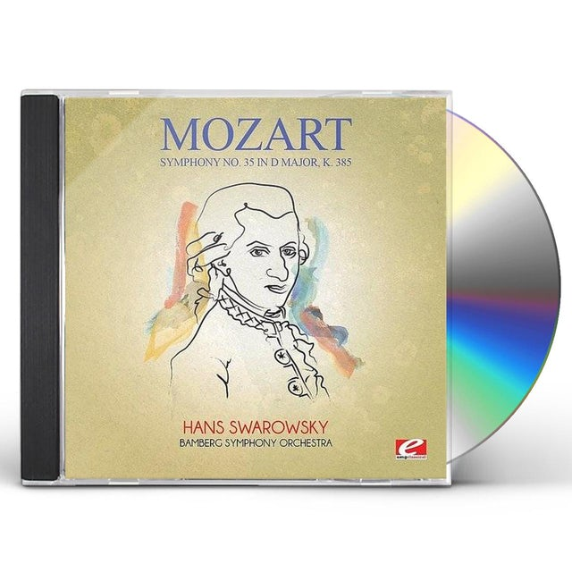 Mozart SYMPHONY 35 IN D MAJOR K 385 CD