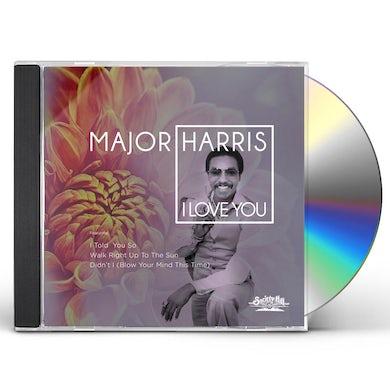 Major Harris I LOVE YOU CD