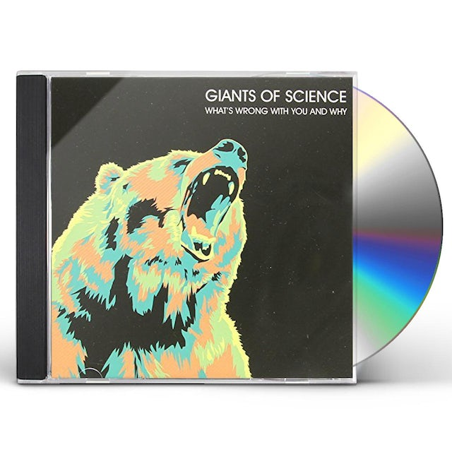 Giants Of Science WHATS WRONG WITH YOU & WHY? CD