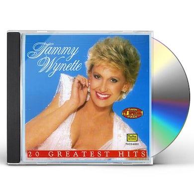 Tammy Wynette 20 GREATEST HITS CD