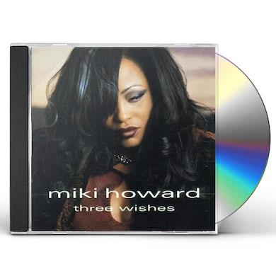 Mikki Howard THREE WISHES CD