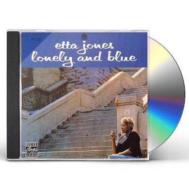Etta Jones LONELY & BLUE CD