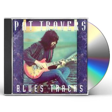 Pat Travers BLUES TRACKS 1 CD