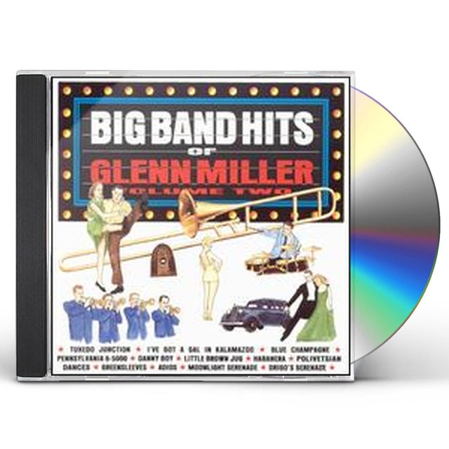 Glenn Miller BIG BAND HITS OF 2 CD