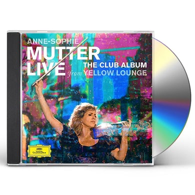 Anne-Sophie Mutter CLUB ALBUM: LIVE FROM YELLOW LOUNGE CD