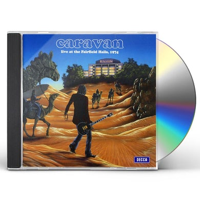 Caravan LIVE AT THE FAIRFIELD HALLS CD