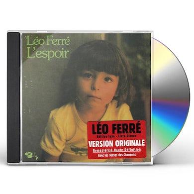 Leo Ferre L'ESPOIR (VOL16) CD