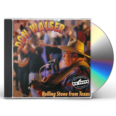 Don Walser ROLLING STONE FROM TEXAS CD