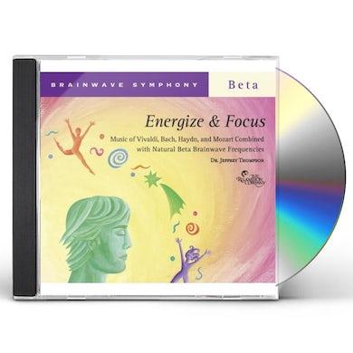 Jeffrey Thompson BRAINWAVE SYMPHONY: ENERGIZE & FOCUS CD