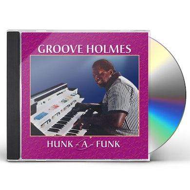Richard Groove Holmes HUNK A FUNK CD