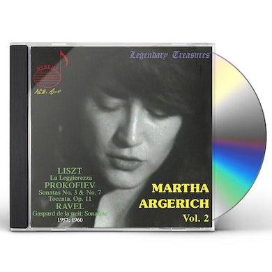 MARTHA ARGERICH 2 CD