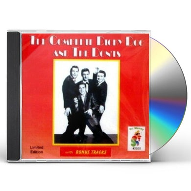 Dicky Doo & The Don'ts COMPLETE RECORDINGS CD