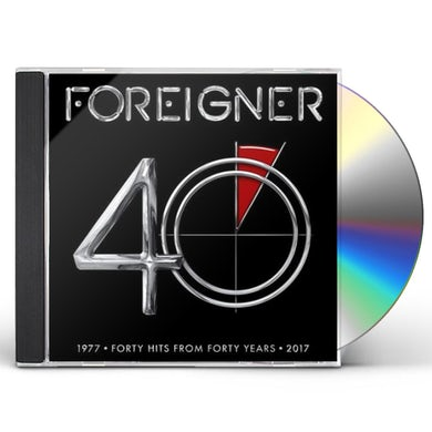 Foreigner 40 CD