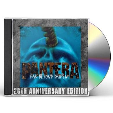 Pantera FAR BEYOND DRIVEN (20TH ANNIVERSARY EDITION) CD