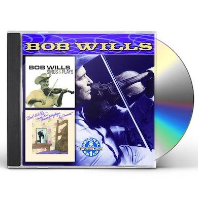 Bob Wills & His Texas Playboys SINGS & PLAYS / IN CONCERT CD