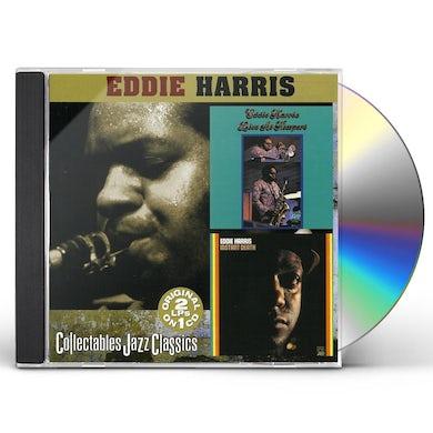 Eddie Harris LIVE AT NEWPORT / INSTANT DEATH CD