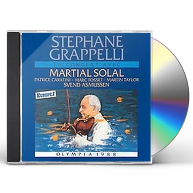 Stephane Grappelli OLYMPIA 88 CD