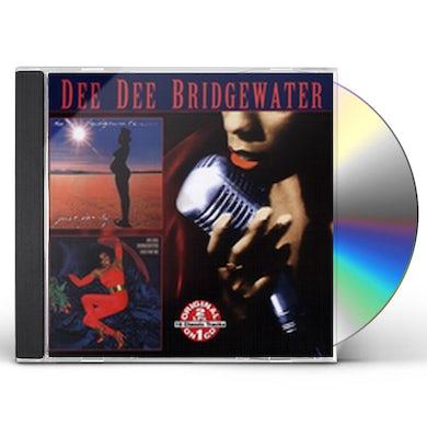 Dee Dee Bridgewater JUST FAMILY / BAD FOR ME CD