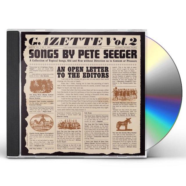 Pete Seeger GAZETTE, VOL. 2 CD