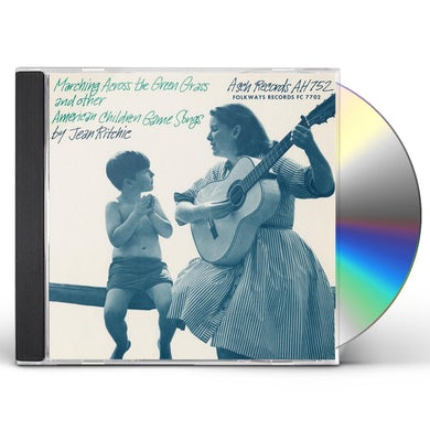 Jean Ritchie MARCHING ACROSS THE GREEN GRASS CD