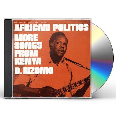 David Nzomo AFRICAN POLITICS: MORE SONGS FROM KENYA CD