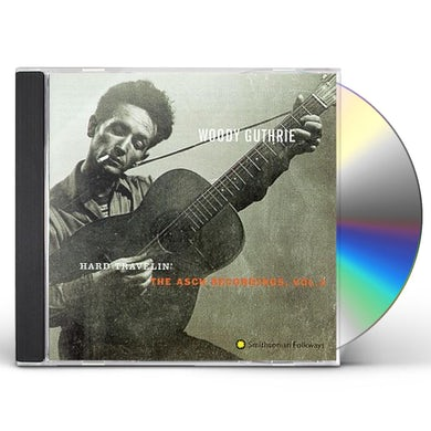 Woody Guthrie HARD TRAVELIN: ASCH RECORDINGS 3 CD