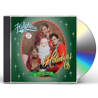 Dude York HALFTIME FOR THE HOLIDAYS CD