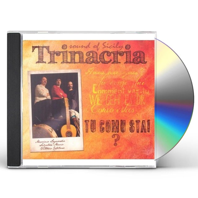 Trinacria TU COMU STAI SOUND OF SICILY CD