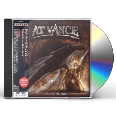 At Vance ONLY HUMAN CD