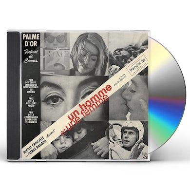 Francis Lai UN HOMME ET UNE FEMME (REMASTERED) / Original Soundtrack CD