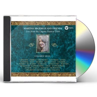 Martha Argerich LIVE FROM THE LUGANO FESTIVAL 2008 CD