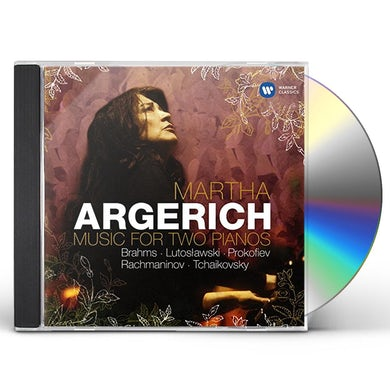 Martha Argerich MUSIC FOR TWO PIANOS CD