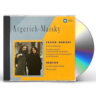 Martha Argerich DEBUSSY: CELLO SONATA ETC. CD