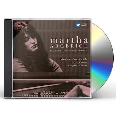 Martha Argerich RAVEL: SONATINE ETC. CD