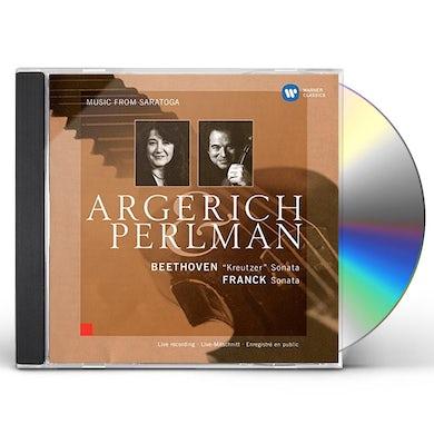 Martha Argerich BEETHOVEN: VIOLIN SONATA NO.9 'KREIT CD