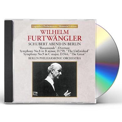 Wilhelm Furtwangler SCHUBERT ABEND IN BERLIN CD