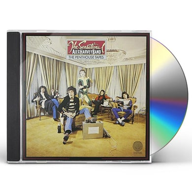 Alex Harvey PENTHOUSE TAPES CD