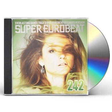 SUPER EUROBEAT VOL 242 CD