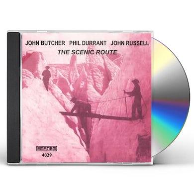 John Butcher SCENIC ROUTE CD